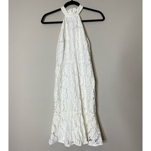 NWT Lulu's White Lace Cocktail Dress